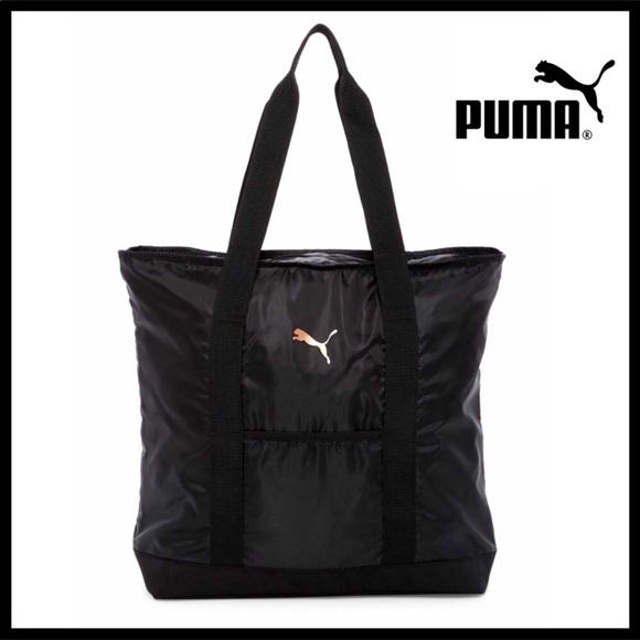 Puma Bags   Large Travel Duffel Style Shoulder Bag   Poshmark 5692b925e9